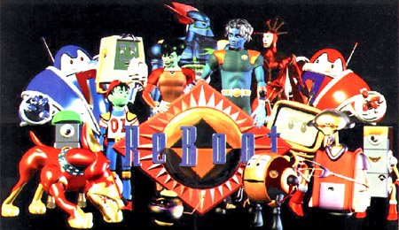 The Cast of Reboot