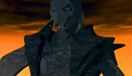 No, this isn't a scene from a bad PlayStation game.  This is actually from Heavy Metal 2000!