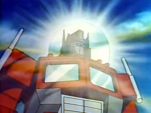 The dying and rising Optimus Prime