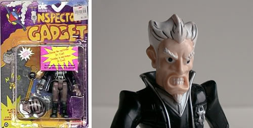REVEALED!!!  Dr. Claw's face.