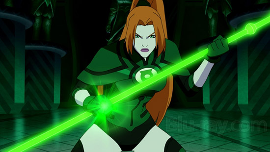 Laira - The resident hottie of the Green Lantern Corp.