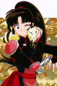 Sango from Inuyasha!  Why?  Because!