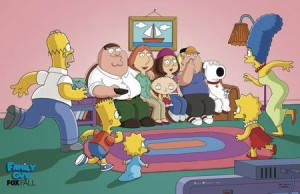 Simpsons Meet Family Guy